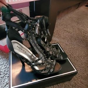 Sexy around the ankle Heels with Jewels